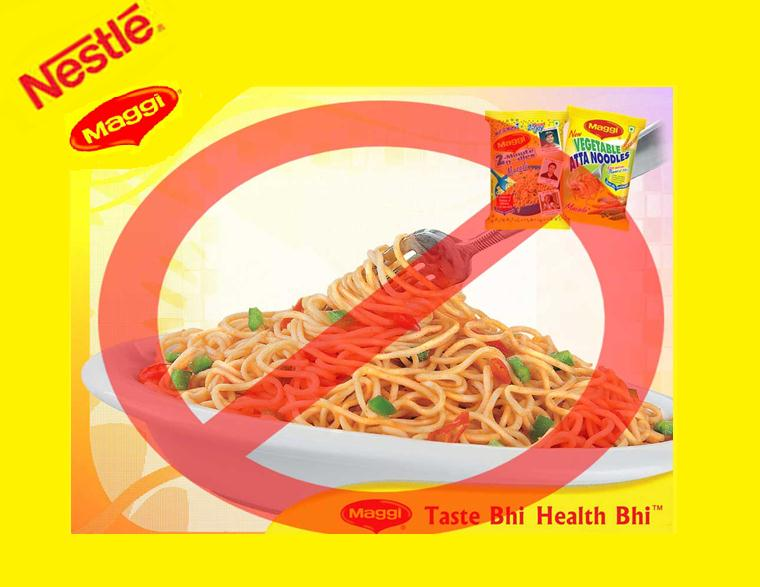 Is maggi banned?